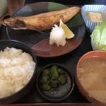 さかなや - 料理写真:日替わり(焼きサバ)