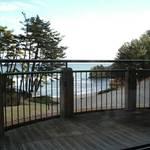 115950 - 座ったテーブルから外を眺めたところ