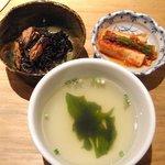 1150726 - ヒジキ、キムチ、スープ