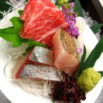 忍野八洲 - 料理写真:お刺身
