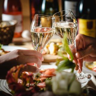 記念日ディナーやお祝いランチ…ハレの日におすすめです♪