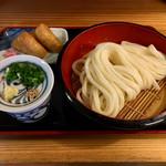 たつ家 - 料理写真:ざるうどん、いなり寿司