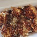 パクパク - 料理写真:100円たこ焼き