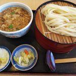 田中屋 - 料理写真:うまかうどん(二枚)