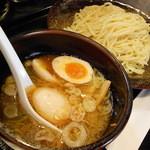 大熊製麺 - 醤油つけ麺(味玉プラス)