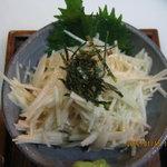 雪の華 - 長芋のワサビ和え