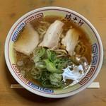 まこと食堂 - 中華そば(麺かため)…700円(税込)
