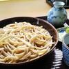 右楽 - 料理写真:田舎そば(太麺)