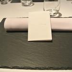リストランテ カノフィーロ - 2019年8月31日のテーブルセット