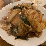 南海飯店 - かたい焼ソバ②