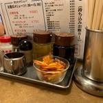 南海飯店 - テーブル