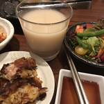 韓食菜炎 ヨンドン - 焼肉にはマッコリ!