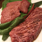 韓食菜炎 ヨンドン - ハラミとロース