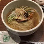韓食菜炎 ヨンドン - 締めの冷麺