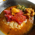 wacca - 料理写真:冷たいニボ醤油な海鮮スープカレー