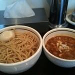 麺商つけ麺 志堂 - 味玉も良いインパクト!!