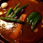 ラマイ - チキン + スープ大盛り + 辛さ7番