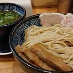 極麺 青二犀 - 「にぼしおつけ麺(大盛)」