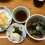 115046588 - '19/09/05 鯛茶+天ぷらハーフセット(1,500円+税)