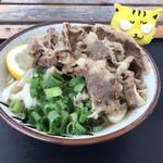 岸井うどん - 料理写真:肉ぶっかけ冷小600円(税込)