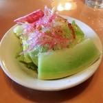 レストランびーばぁ - サラダ