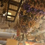 ガレット - 店内、天井の様子