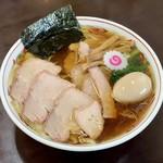 115053016 - 焼豚ワンタン麺味玉入り 醤油味(1,180円)