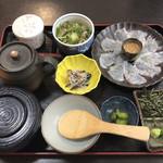 食処はる 澤の家 - 料理写真:鯛茶漬定食@1080