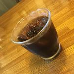 115054136 - 洋食屋 食後のアイスコーヒー