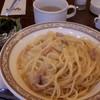 ビッグベン - 料理写真:カルボナーラセット950円