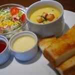 ルジャンドル - スープセット(モーニング)