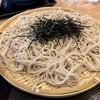 旬食・おそば なごみ - 料理写真:天丼セットのざるそば大盛り