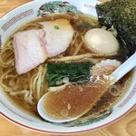 麺屋 正遊 - 中華そば670円+煮卵100円
