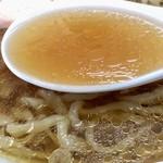 麺屋 正遊 - スープ