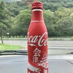 麺屋 正遊 - 店の前の自販機の会津限定のコーラ 可愛くて買っちゃいました(^-^)