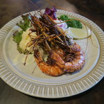 カルメン - エビの南蛮焼き サラダ添え