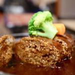 肉の杉本 味散歩 - ハンバーグ善