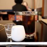 肉の杉本 味散歩 - 食後のアイスコーヒー