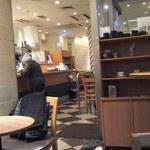 ベックスコーヒーショップ - 店内(2012/02)