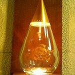サイトグラス - 入口のライト