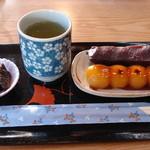 萩 - 串だんごセット:600円