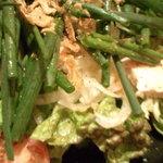 播鳥 - ネギのシャキシャキサラダ