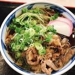 天咲 - 広島牛肉そば850円