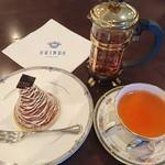 115071132 - モンブランフランセ、紅茶(ブラックチェリー)