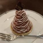 115071133 - マロンクリームが上品な甘さで絶品。生クリーム、スポンジケーキとの相性も抜群。