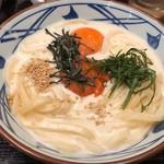丸亀製麺 - 明太クリーム釜玉並640円