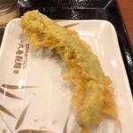 丸亀製麺 - 万願寺とうがらし天150円