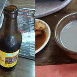 焼肉秦家 - ドリンク写真:ホッピィで始まり黒豆マッコリでおわりまたし()