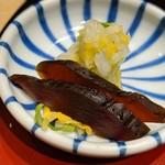あつた蓬莱軒 - 漬物(ひつまぶし)