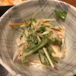上州 田舎屋 - 胡麻豆腐 此れは美味しかった!
